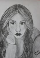 Portrait of Spencer Hastings by JuliaMukka