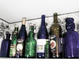 Bottles by Ithaedral