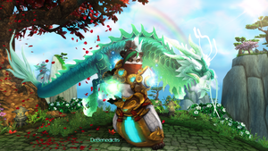 DeBenedictis Wallpaper - World of Warcraft by ginnypinny