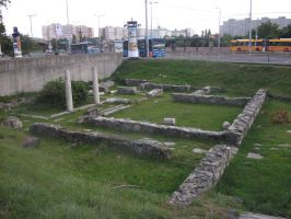 Roman ruins on Florian square by LilDash
