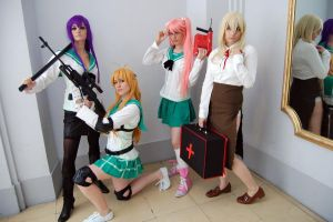 HotD 1- Highschool of the Dead by Evil-Siren