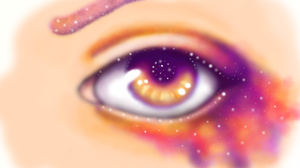 Your Eyes Are A Galaxy by RyLaree