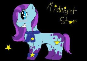 midnight star! by artfreak26