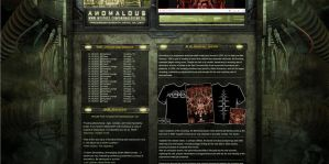 ANOMALOUS WEBDESIGN DETAIL 2 by isisdesignstudio