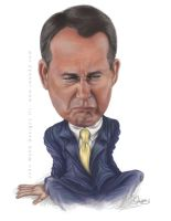 John Boehner Crying by jweb3d