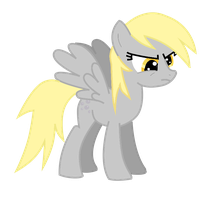Derpy is angry vector by WillowTails