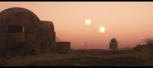 Tatooine sunset by Dave-DK