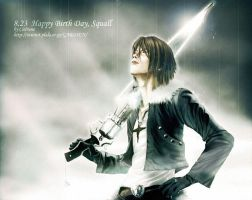 for 8.23-Squall Leonhart by Cielrune