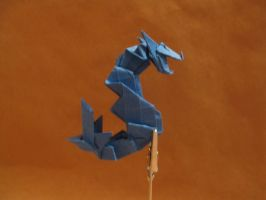 Origami serpent dragon by orimin