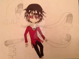 Soul Eater chibis preview Asura by sanddemon12