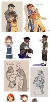 Legend of Korra/Avatar dump by vasira