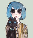 Coraline and Cat by Busbi