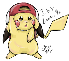 Pikachu - Don't Leave Me by AriellaMoonstone