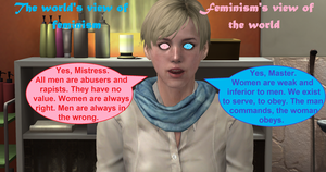 Feminism and Mind Control by VG-MC