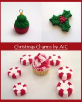 Christmas Charms by alternativeicandy