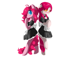 Request: Cotton Candy and Pinkey Crazy by Tomat-in-Cup