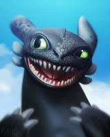 Toothless by K4ll0