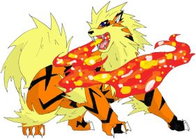 fav fire Arcanine by kiahl
