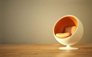 Egg Chair Wallpaper by yopanic