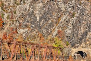 Rugged Autumn Railroad by somadjinn