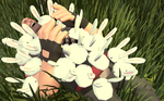 [SFM] Attacked by Bunnies by Gamiri