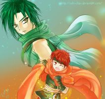 Sothe and Tormod by Rubi-chan