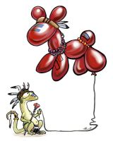 Balloon Animal Totem by ursulav