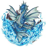 Fomalhaut - Ocean Dragon (Song of Amasia) by Coeleth