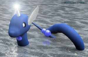Dragonair - Cinema 4D by PeregrineStudios