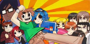 Scott Pilgrim v The Video Game by heisenbored