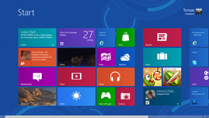 My Windows 8 startscreen by ProjektGoteborg
