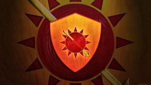 House Martell - Sigil Wallpaper by GaryckArntzen
