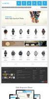 Metro Responsive eCommerce Theme by harnishdesign