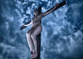 HDR Asian Female Christ 650 by passionofagoddess