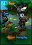 Wolf's story Ch.1 cover (Moving Day) by Randomthewolfskie