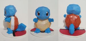 Squirtle Papercraft by drawwithme15