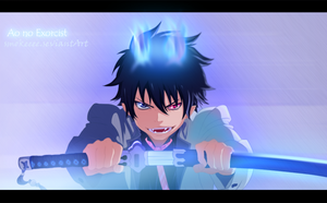 Ao no Exorcist - color by smokeeee by Smokeeee