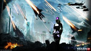 Mass Effect: The Descent by Hazzerz