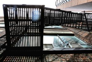 Fire Escape: Off Spadina Ave. III by basseca