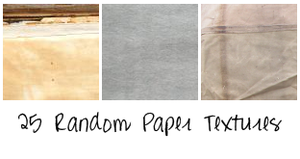 Random Paper Textures by seline-bennet