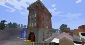Minecraft - Ghostbusters HQ 1 by Vakamatje