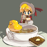 duck tea by milkybee