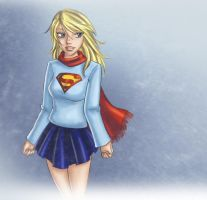 Supergirl - Winter Apparel by TheCatlady