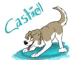 Puppy Castiel by PsychoServal