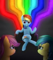 Rainbow Factory by FluffleLord