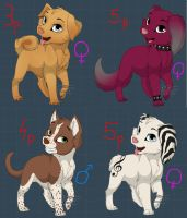 Adoptables 3 by Netris10