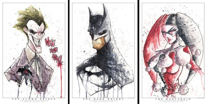 Limited Saucy Shot Prints by RobDuenas