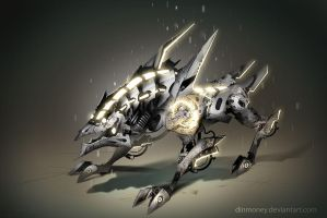 Anima: Clock Hound by dinmoney