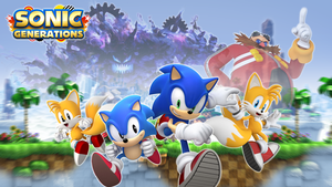 Sonic Generations Wallpaper by SonicGenerationsPlz