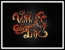 My shop logo i designed valley of ink ornate by CalebSlabzzzGraham
